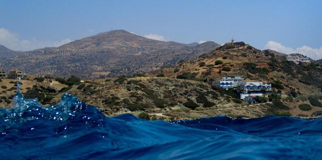 sailing to pavlos' place